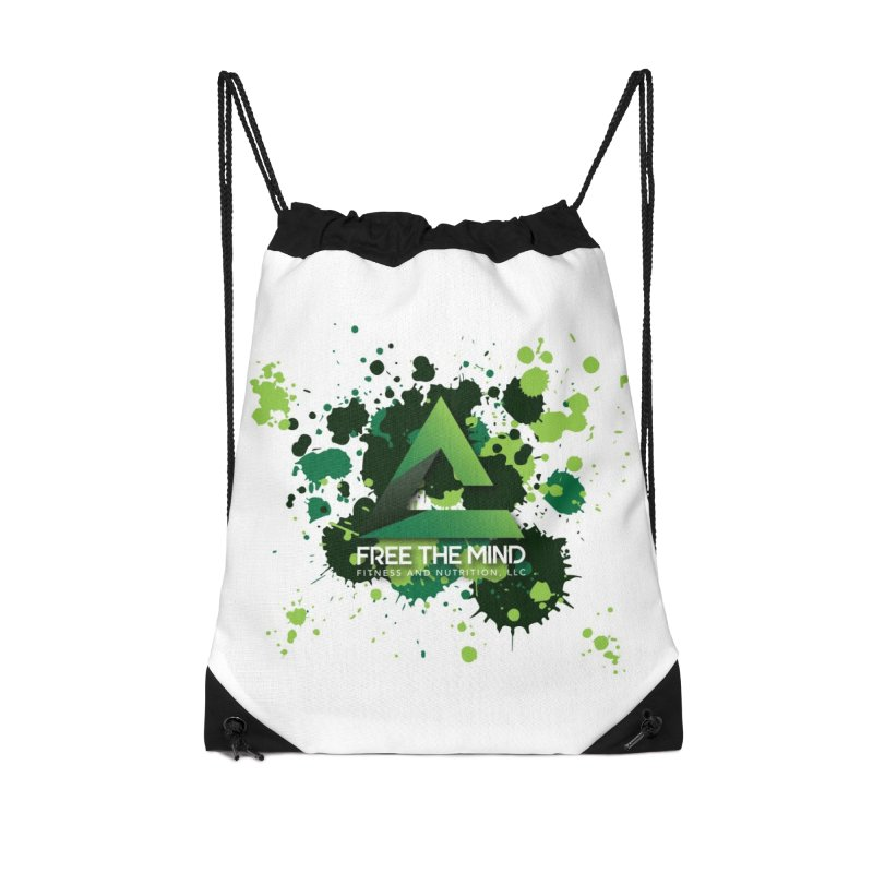 Splatter Accessories Bag by Free the Mind Fitness Shop