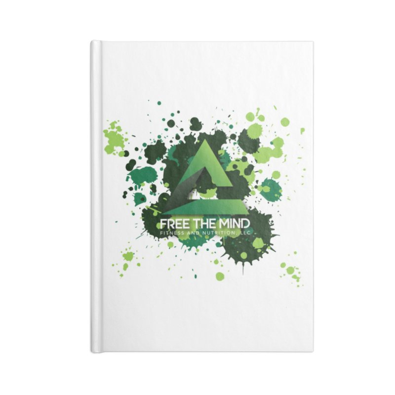 Splatter Accessories Notebook by Free the Mind Fitness Shop