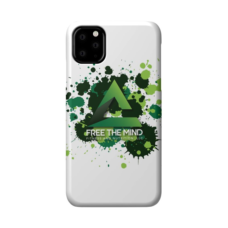 Splatter Accessories Phone Case by Free the Mind Fitness Shop