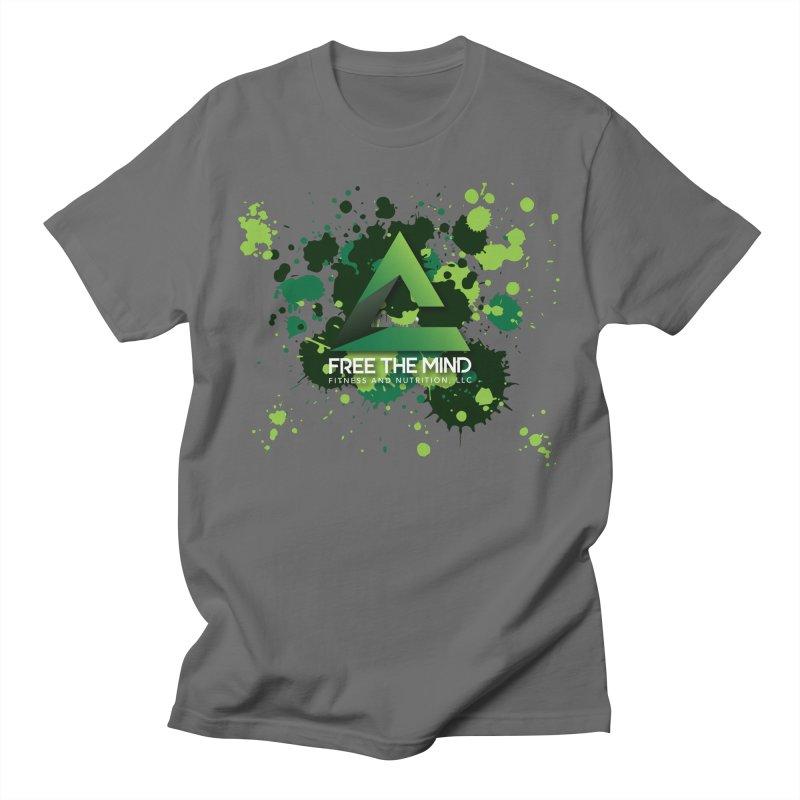 Splatter Men's T-Shirt by Free the Mind Fitness Shop