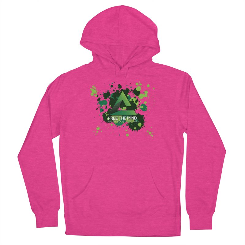 Splatter Men's Pullover Hoody by Free the Mind Fitness Shop