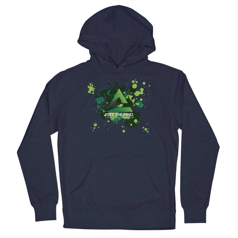 Splatter Women's Pullover Hoody by Free the Mind Fitness Shop
