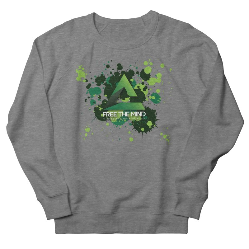 Splatter Men's Sweatshirt by Free the Mind Fitness Shop
