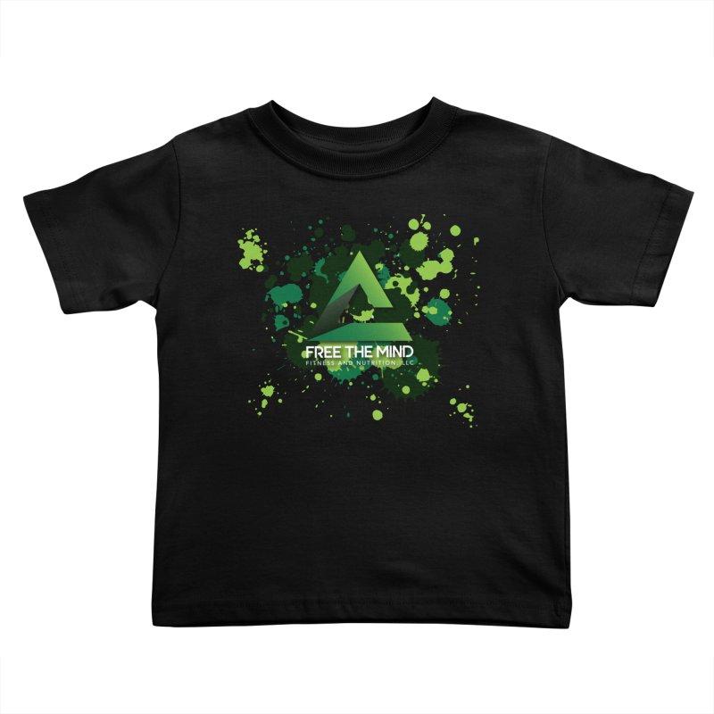 Splatter Kids Toddler T-Shirt by Free the Mind Fitness Shop
