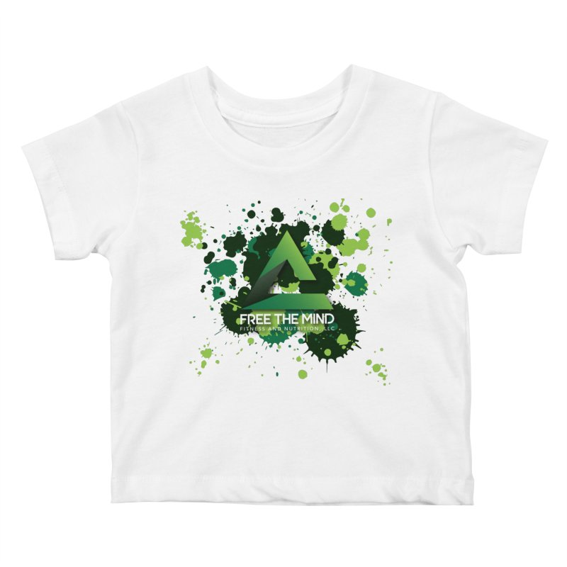 Splatter Kids Baby T-Shirt by Free the Mind Fitness Shop