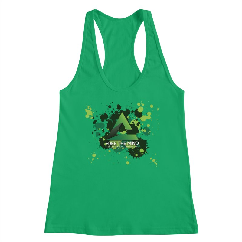 Splatter Women's Tank by Free the Mind Fitness Shop