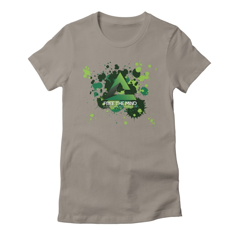 Splatter Women's T-Shirt by Free the Mind Fitness Shop