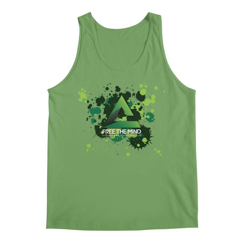 Splatter Men's Tank by Free the Mind Fitness Shop