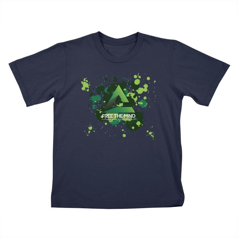 Splatter Kids T-Shirt by Free the Mind Fitness Shop