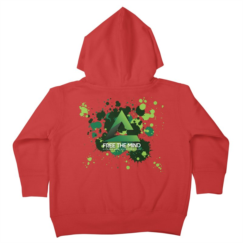 Splatter Kids Toddler Zip-Up Hoody by Free the Mind Fitness Shop