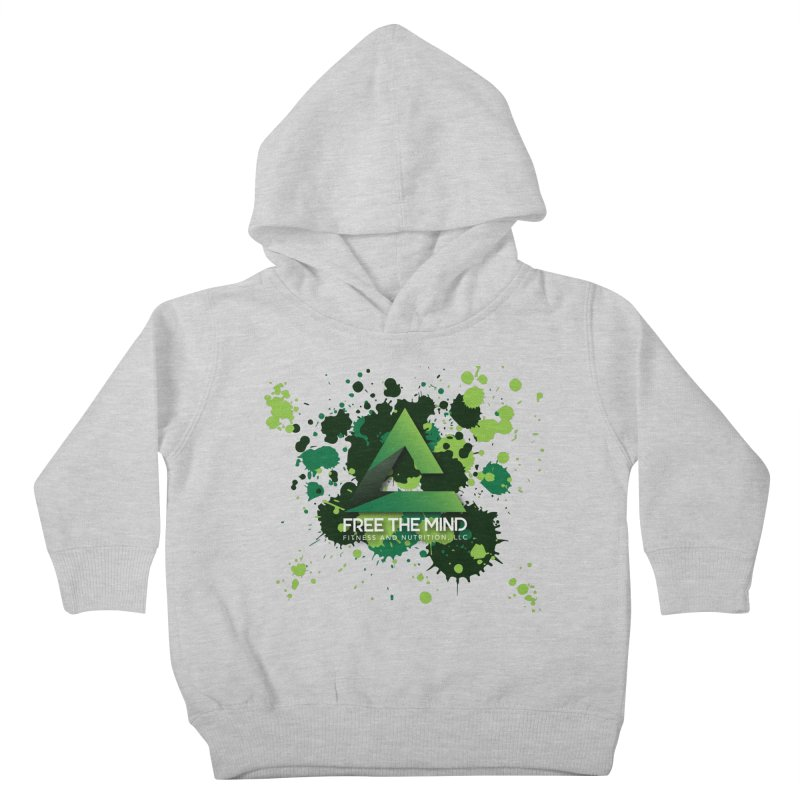Splatter Kids Toddler Pullover Hoody by Free the Mind Fitness Shop