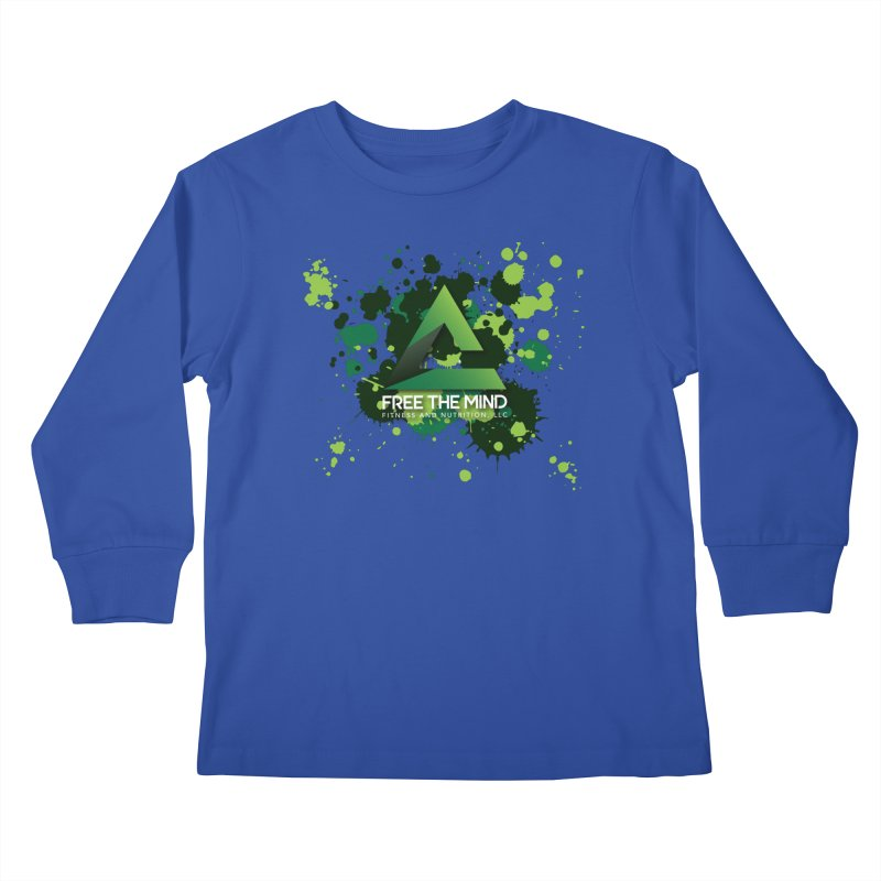 Splatter Kids Longsleeve T-Shirt by Free the Mind Fitness Shop