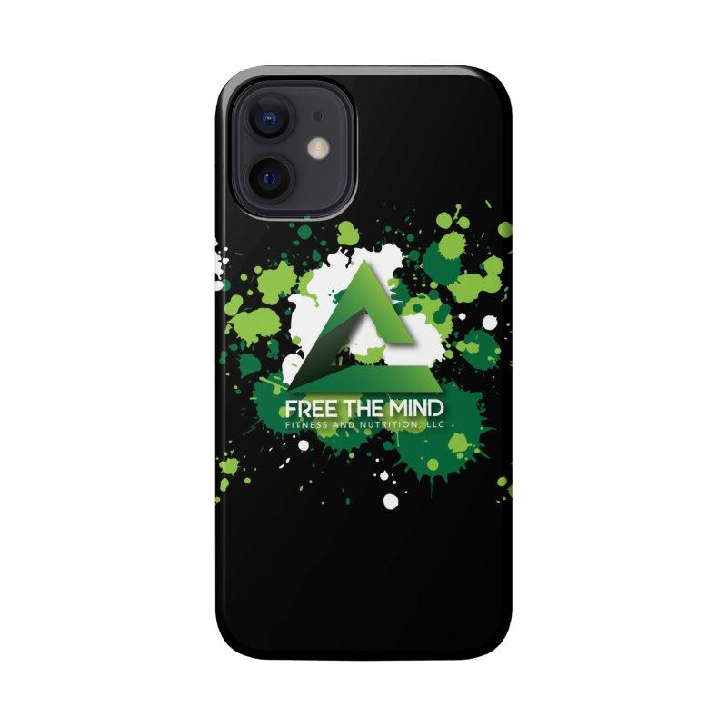 Splatter-Dark Accessories Phone Case by Free the Mind Fitness Shop