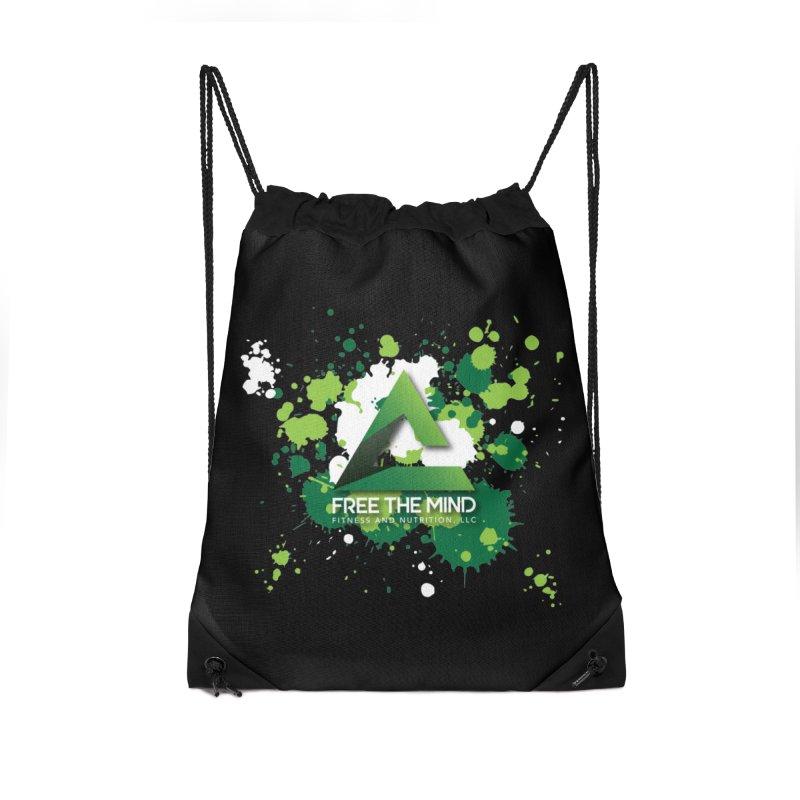 Splatter-Dark Accessories Bag by Free the Mind Fitness Shop
