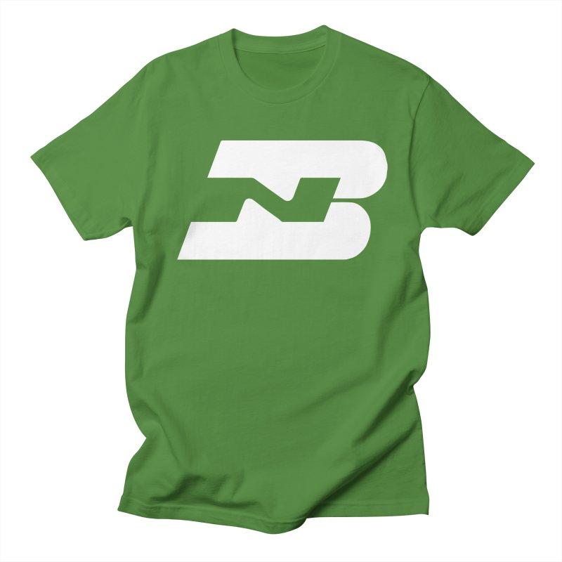 Burlington Northern in Men's Regular T-Shirt Clover by Freight Culture Tees