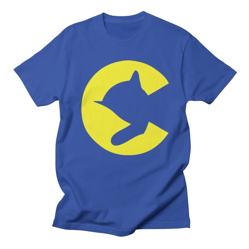 Chessie System in Men's Regular T-Shirt Royal Blue by Freight Culture Tees