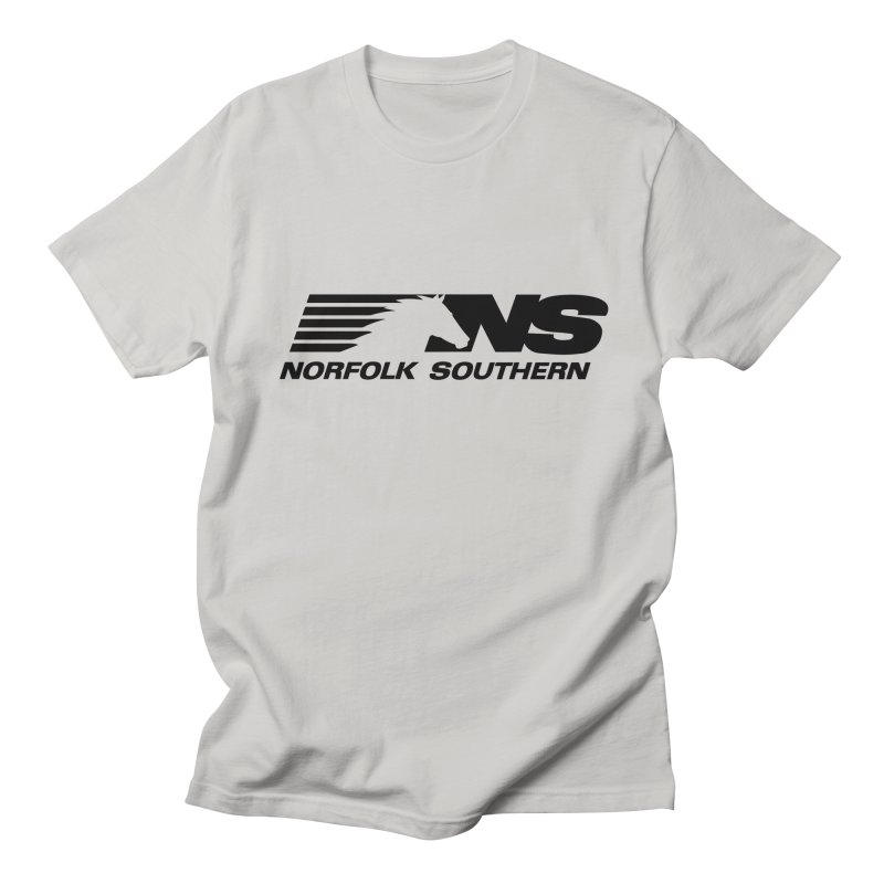 Norfolk Southern in Men's Regular T-Shirt Stone by Freight Culture Tees