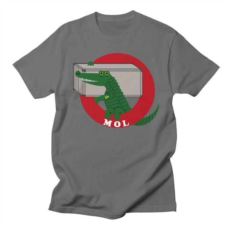 MOL in Men's Regular T-Shirt Asphalt by Freight Culture Tees