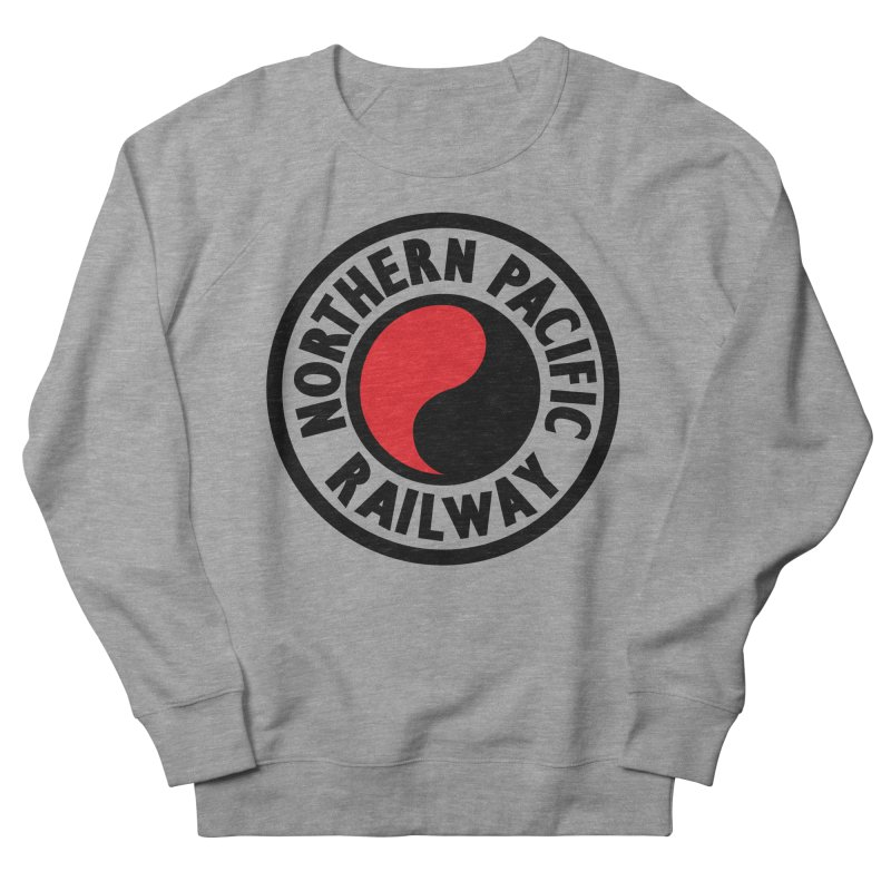 Northern Pacific Men's French Terry Sweatshirt by Freight Culture Tees