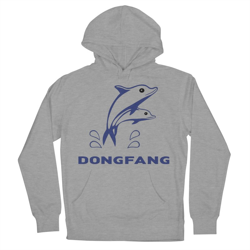 Dong Fang Men's French Terry Pullover Hoody by Freight Culture Tees