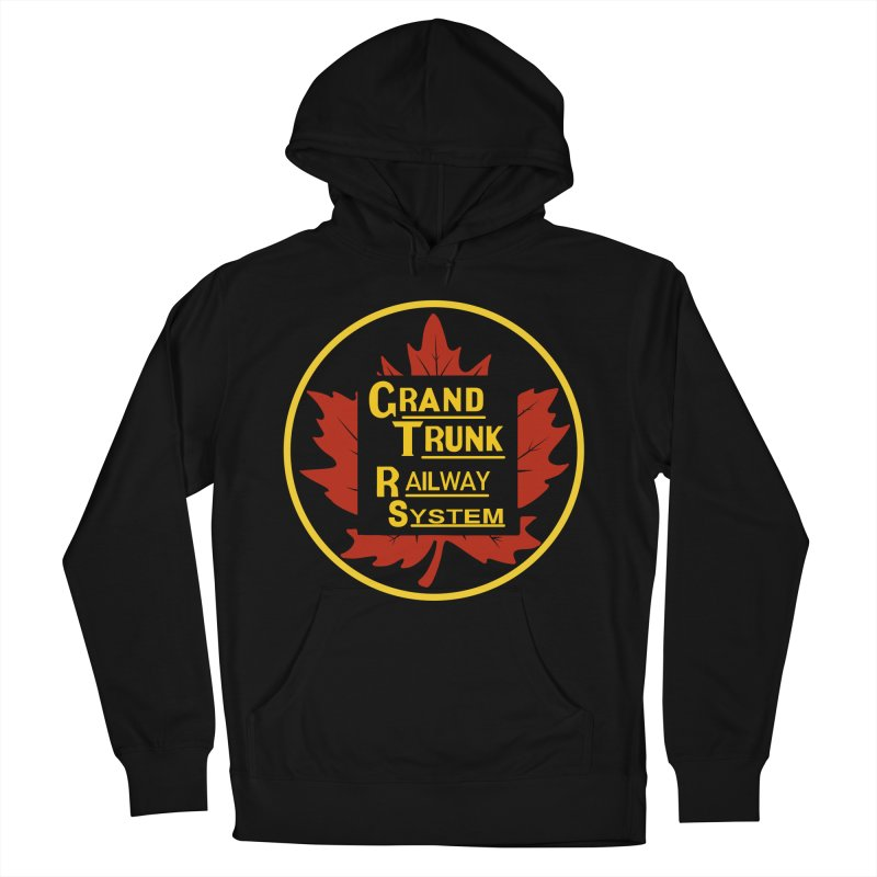 Grand Trunk Railway Women's French Terry Pullover Hoody by Freight Culture Tees