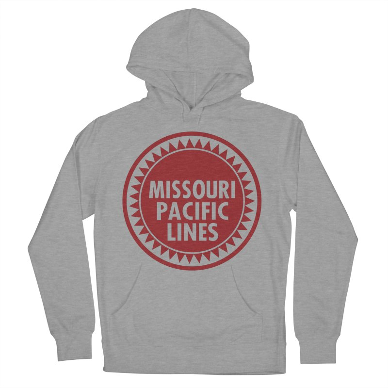 Missouri Pacific Men's French Terry Pullover Hoody by Freight Culture Tees