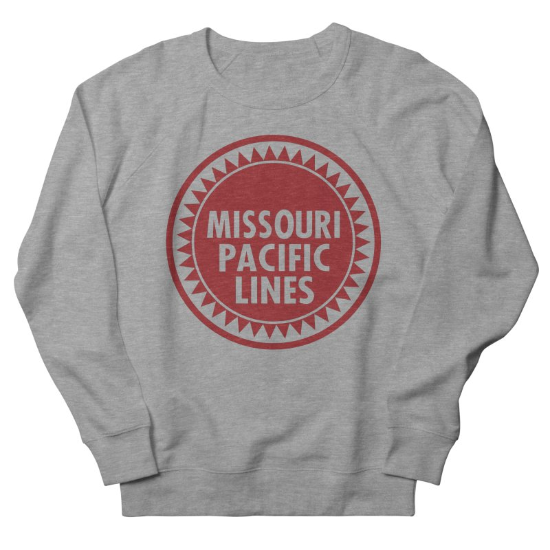 Missouri Pacific Women's French Terry Sweatshirt by Freight Culture Tees