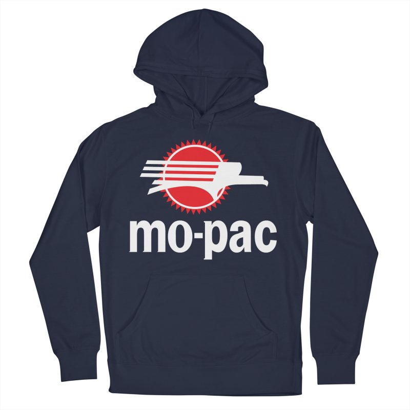 Mopac Men's French Terry Pullover Hoody by Freight Culture Tees