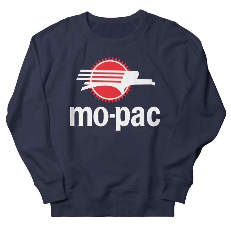 Mopac Women's French Terry Sweatshirt by Freight Culture Tees
