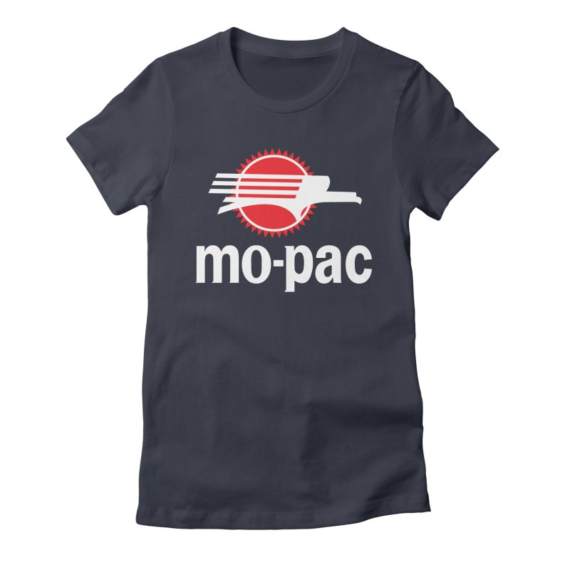 Mopac Women's Fitted T-Shirt by Freight Culture Tees