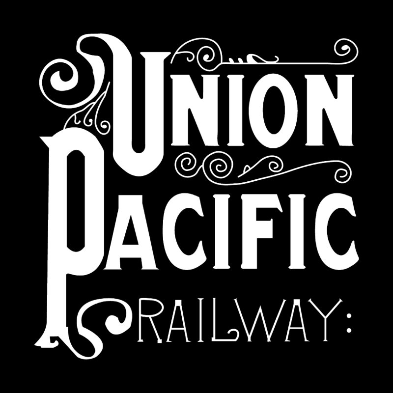 Union Pacific Classic Men's T-Shirt by Freight Culture Tees