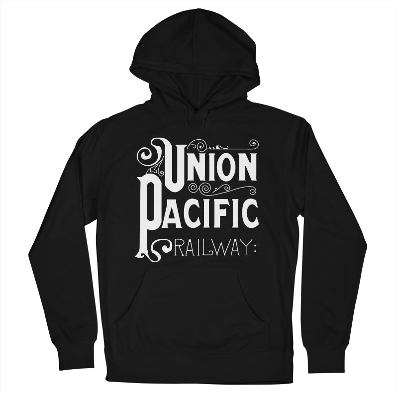 Union Pacific Classic Men's French Terry Pullover Hoody by Freight Culture Tees