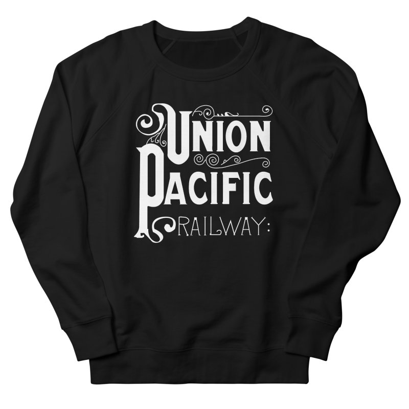 Union Pacific Classic Men's French Terry Sweatshirt by Freight Culture Tees