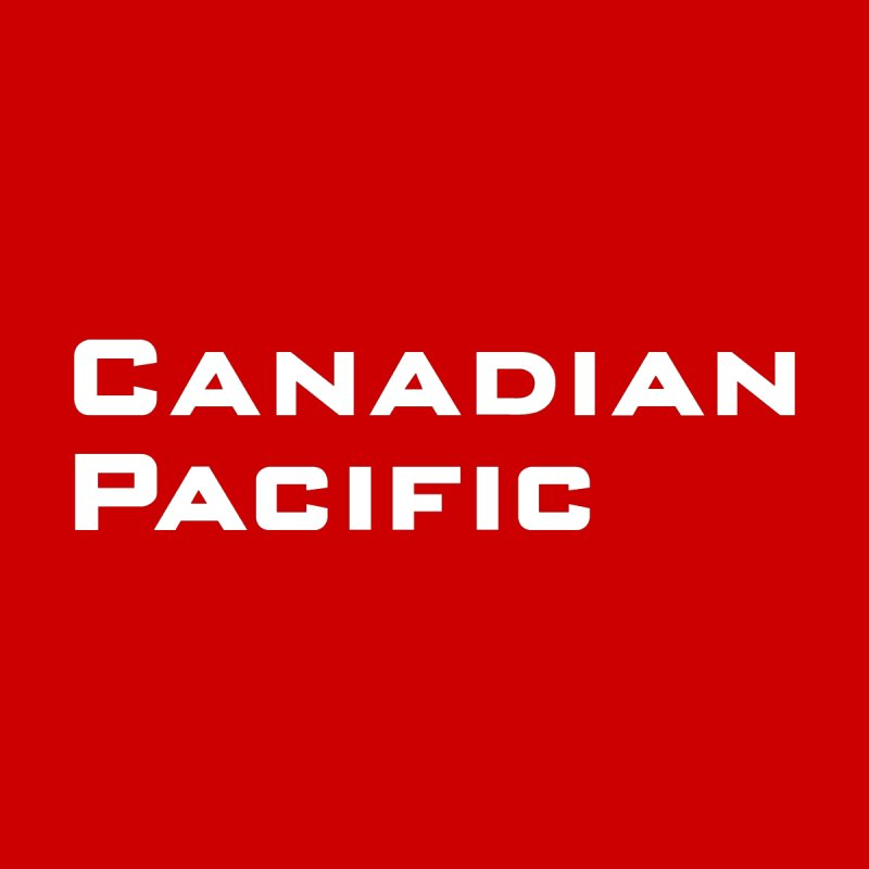 Canadian Pacific Men's T-Shirt by Freight Culture Tees