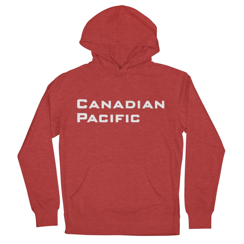 Canadian Pacific Women's French Terry Pullover Hoody by Freight Culture Tees