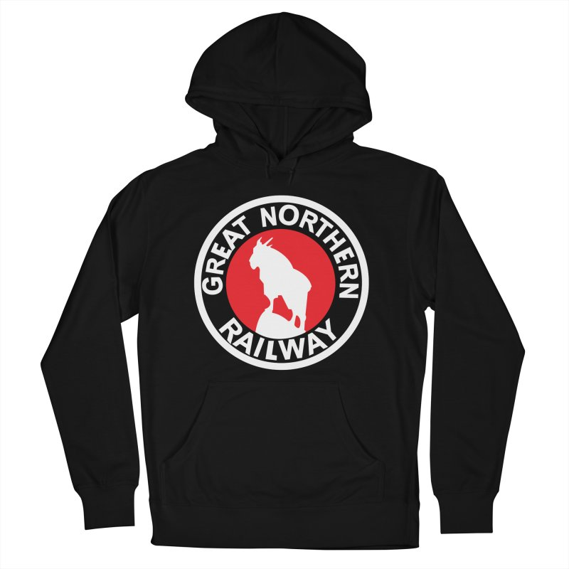 Great Northern Men's French Terry Pullover Hoody by Freight Culture Tees