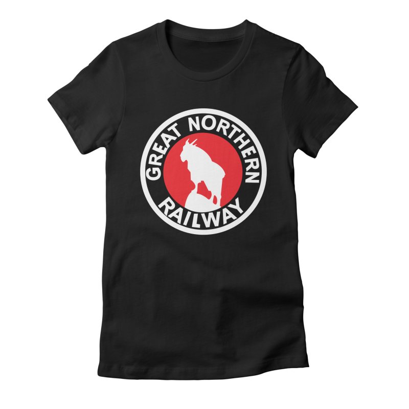 Great Northern Women's Fitted T-Shirt by Freight Culture Tees