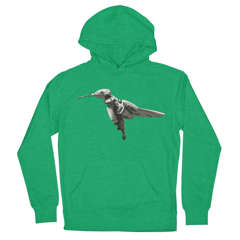 VORTX VERDE Women's French Terry Pullover Hoody by Frenchi French