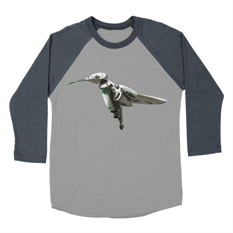 VORTX VERDE Men's Baseball Triblend Longsleeve T-Shirt by Frenchi French