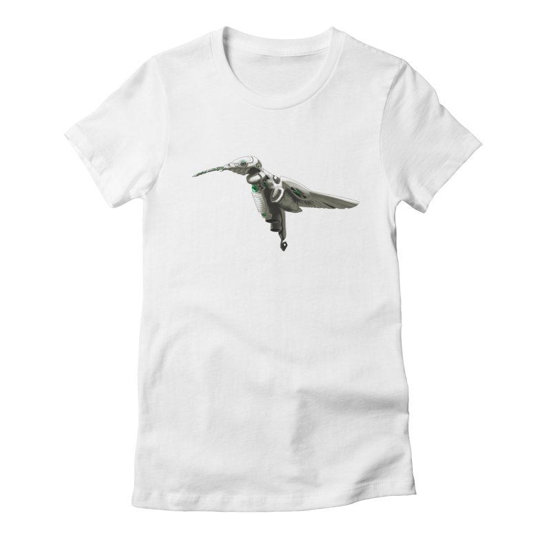 VORTX VERDE Women's Fitted T-Shirt by Frenchi French