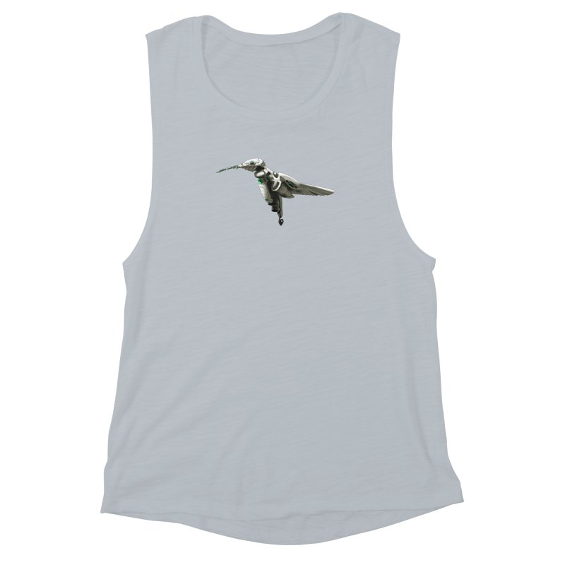 VORTX VERDE Women's Muscle Tank by Frenchi French