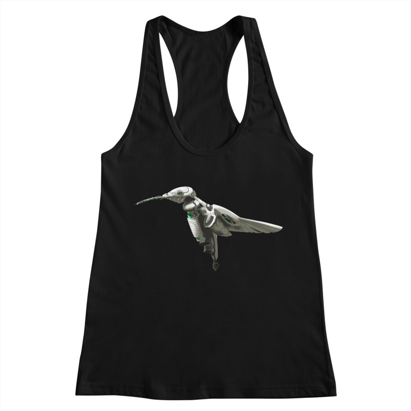 VORTX VERDE Women's Racerback Tank by Frenchi French