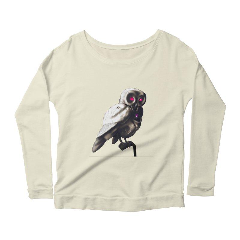 Athena 001 Women's Scoop Neck Longsleeve T-Shirt by Frenchi French