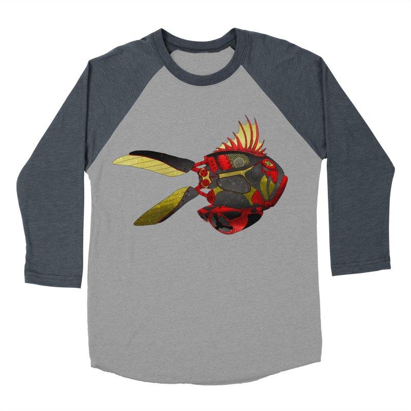 Ichthys 001 Men's Baseball Triblend Longsleeve T-Shirt by Frenchi French