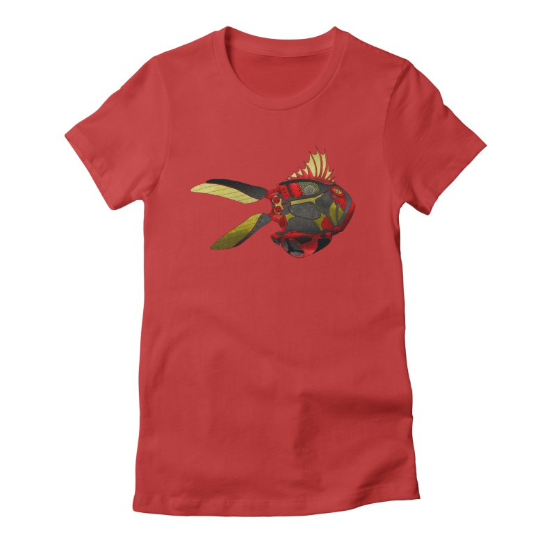 Ichthys 001 Women's Fitted T-Shirt by Frenchi French