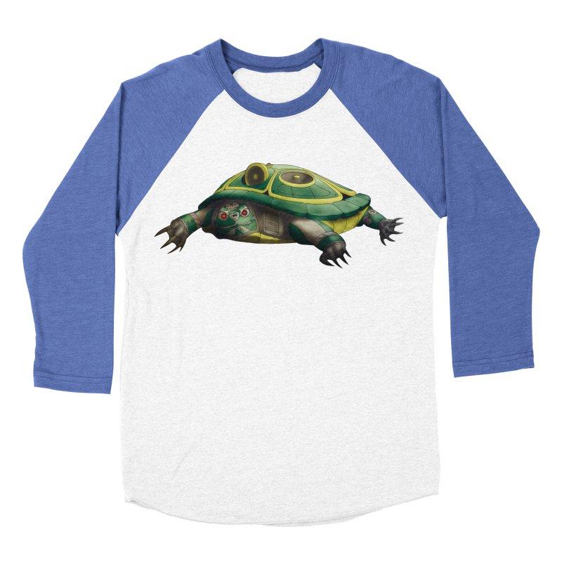 Harlequinn 001 Men's Baseball Triblend Longsleeve T-Shirt by Frenchi French