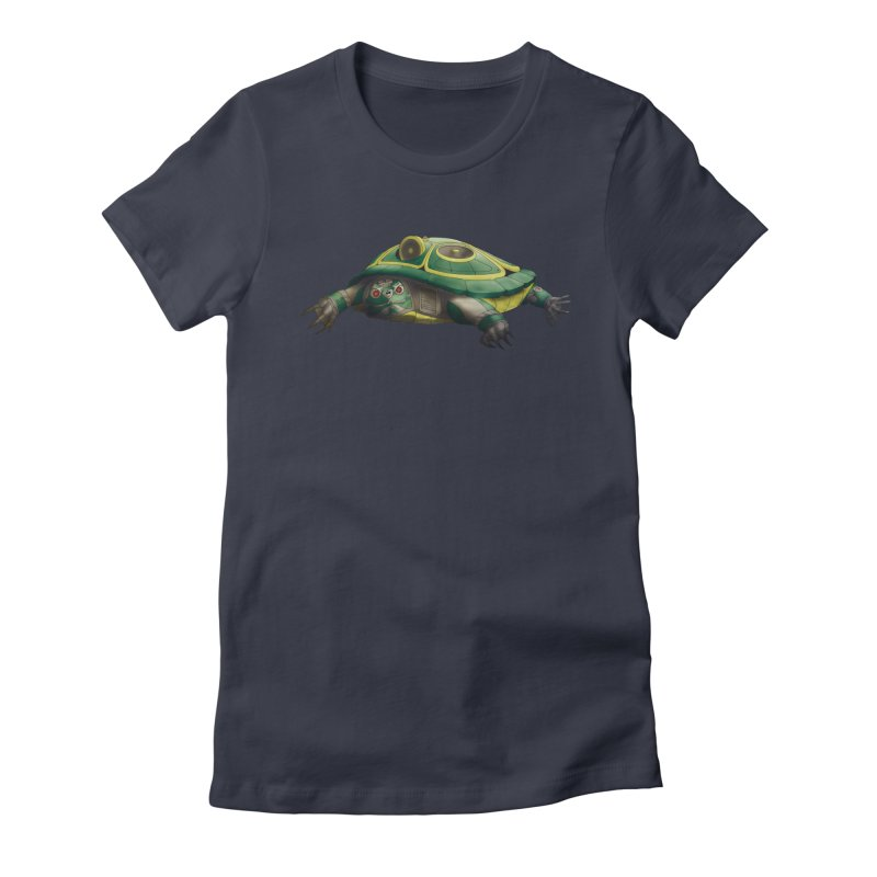 Harlequinn 001 Women's Fitted T-Shirt by Frenchi French