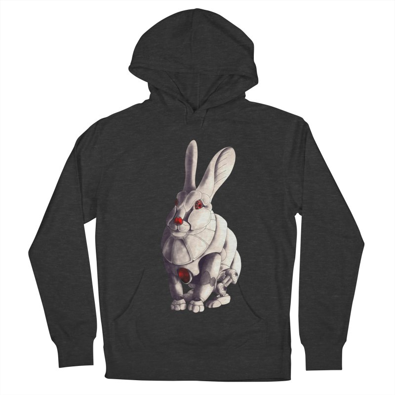 Weiss Hase Uhr Women's French Terry Pullover Hoody by Frenchi French