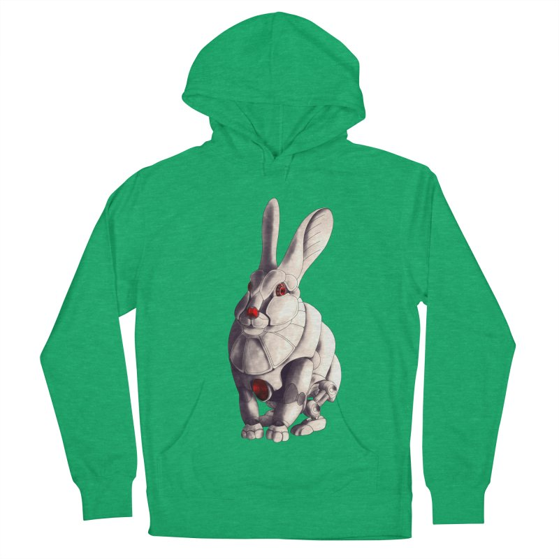 Weiss Hase Uhr Men's French Terry Pullover Hoody by Frenchi French