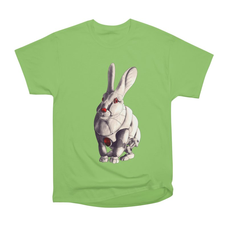 Weiss Hase Uhr Women's Heavyweight Unisex T-Shirt by Frenchi French
